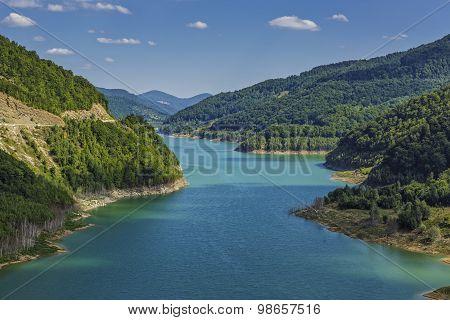 Dam Mountain Lake