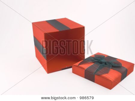 Christmas Or Valentines Day Gift Box