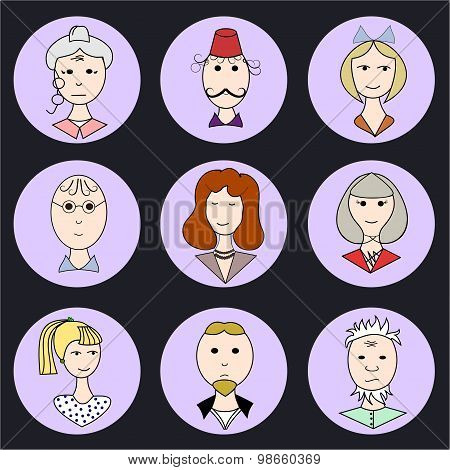 Color Family Icons