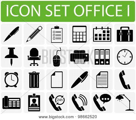 Icon Set Office I