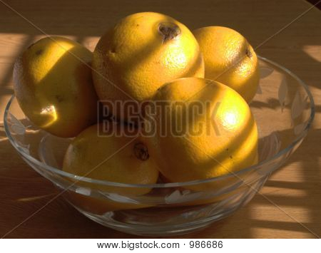 Oranges In Shadows