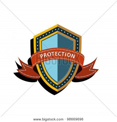 Vector Colorful Shield