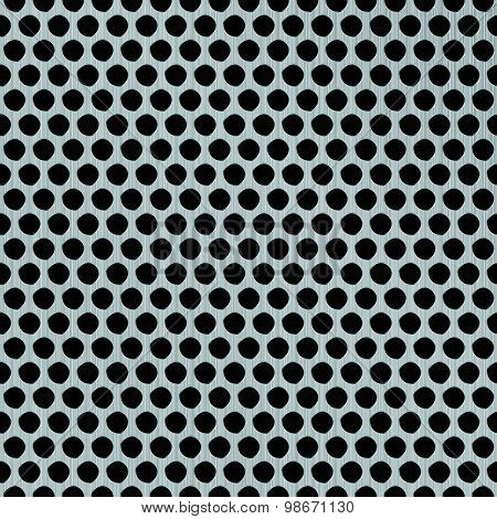 Vector Metallic Grill Abstract Background