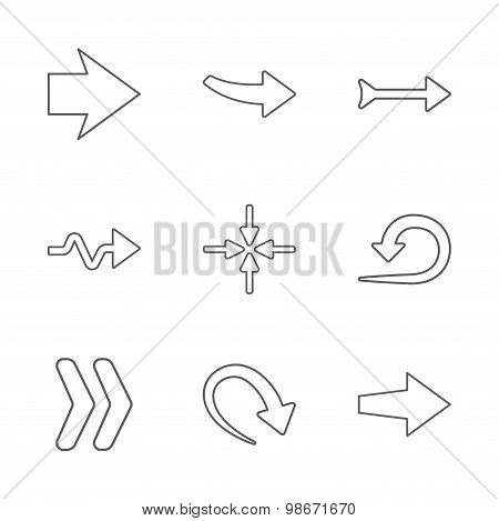 9 new simple arrows
