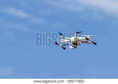 Flying Air Drone With Camera