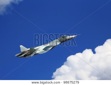 Fighter In Flight