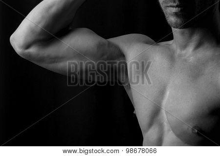 Man biceps