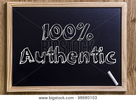 100% Authentic