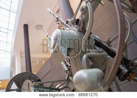 Vintage Russian artillery gun