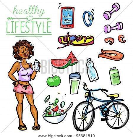 Healthy Lifestyle - Woman