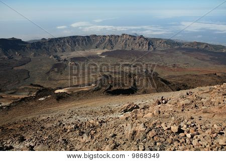 Volcano on Canary Islands