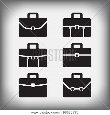 Set Of 6 Portfolios Isolated