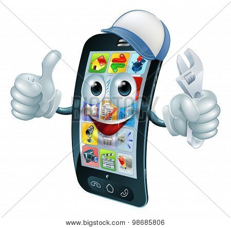 Mobile Phone Repair Character