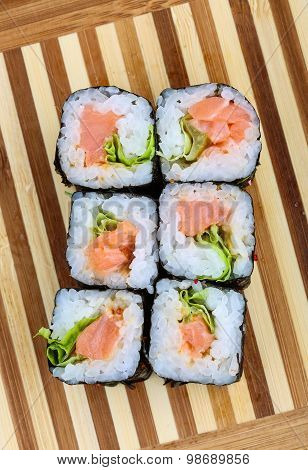 Roll With Salmon