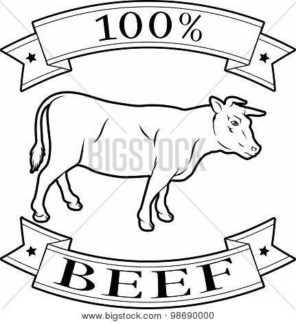100 Percent Beef Label