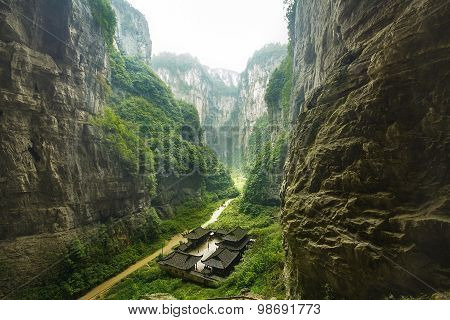 Wulong National Park, Chongqing, China