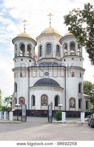 Ascension Cathedral In Zvenigorod