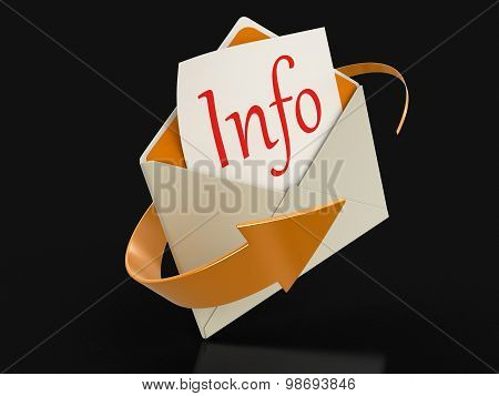 Letter info (clipping path included)