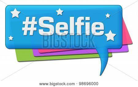 Selfie Colorful Comments Symbols