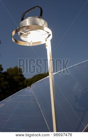 Kettle On A Solar Stove