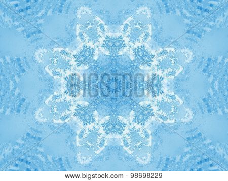 Abstract Ice Pattern