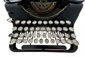 stock photo of illiteracy  - An old old typewriter - JPG