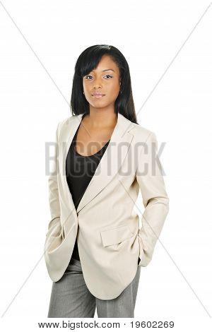 Confident Black Businesswoman
