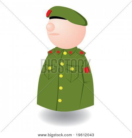 Man military.