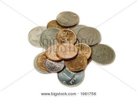 Set Of Russian Coins