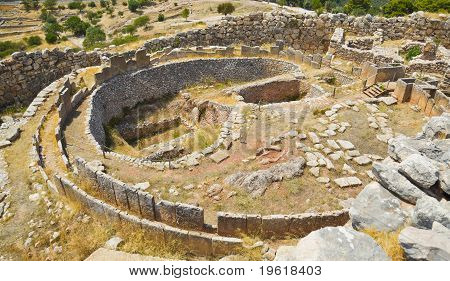 Tomb in Mycenae, Greece