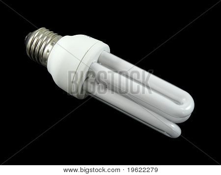 Energy saving fluorescent light bulb