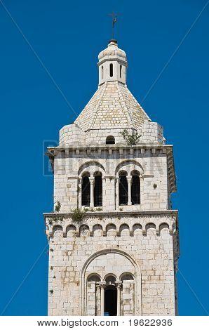 St. Maria Maggiore Belltower Cathedral. Barletta. Apulia.