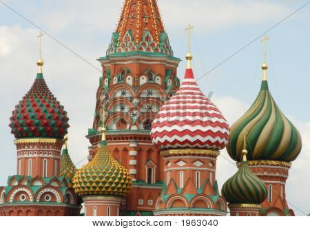 Saint Basils Cathedral, Red Square, Moscow, Russia