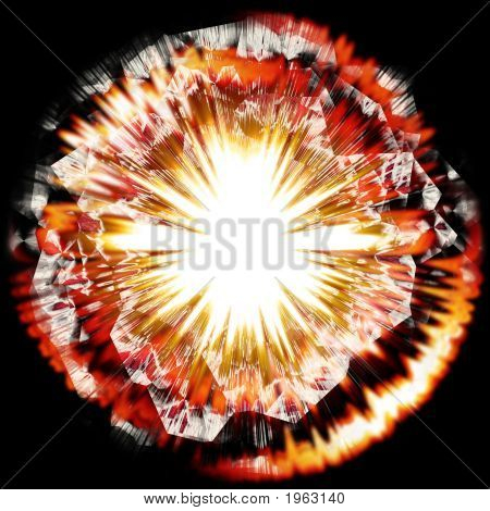Powerful Explosion