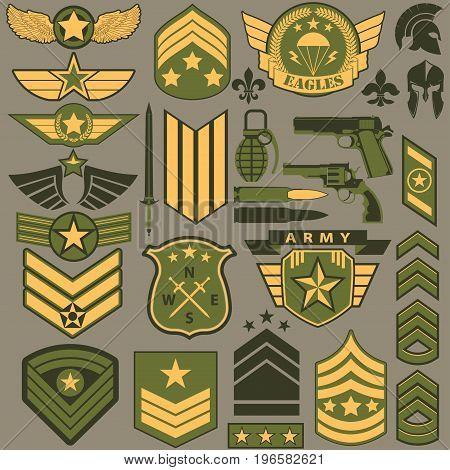 Military symbol set