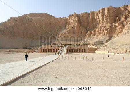 Deir El-Bahari, Luxor, Egypt