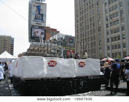 World's Largest Ice Cream Cake