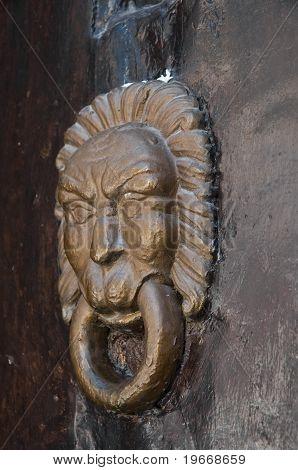 Doorknocker.