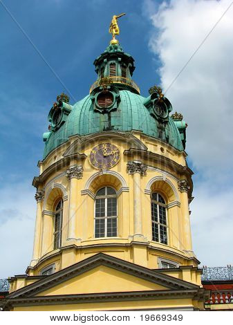 tower of Charlottenburg palace