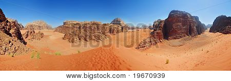 Vadi Ram - Jordan. Panorama