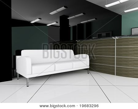 Place For Rest In Office
