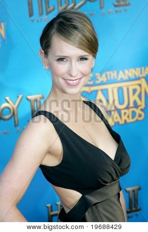 UNIVERSAL CITY, CA - JUNE 24: Actress Jennifer Love Hewitt attends the 34th Annual Saturn Awards at the Hilton Hotel June 24, 2008 in Universal City, California.