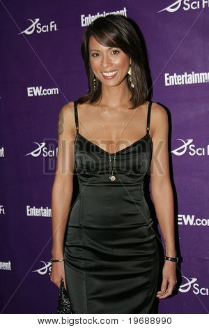 SAN DIEGO, CA - July 26: Actor Lexa Doig attends the annual Comic Con International SciFi Channel party hosted by Entertainment Weekly on July 26, 2008 in San Diego, CA.