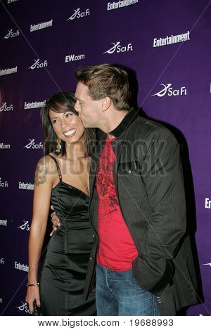 SAN DIEGO, CA - July 26: Actor Lexa Doig and Michael Shanks attend the annual Comic Con International SciFi Channel party hosted by Entertainment Weekly on July 26, 2008 in San Diego, CA.