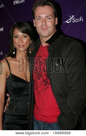 SAN DIEGO, CA - July 26: Actors Lexa Doig and Michael Shanks attend the annual Comic Con International SciFi Channel party hosted by Entertainment Weekly on July 26, 2008 in San Diego, CA.