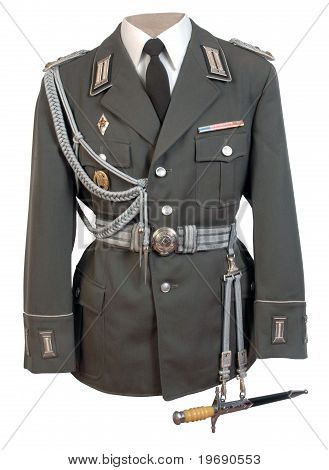 East German Military Uniform