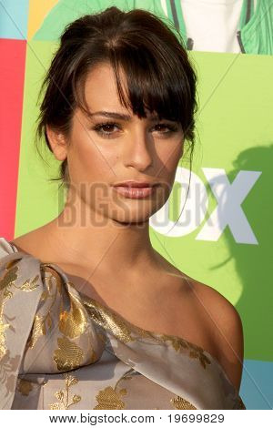 LOS ANGELES - JUL 27:  Lea Michele arrives at Fox's