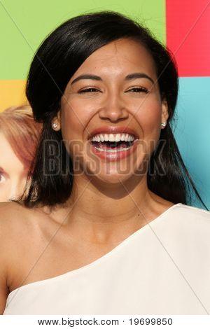 LOS ANGELES - JUL 27:  Naya Rivera arrives at Fox's