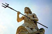 stock photo of poseidon  - Statue Of Poseidon - JPG