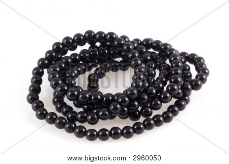 Black Pearl Necklace.